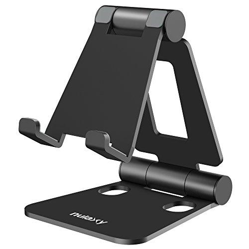 NULAXY Handy Ständer, Tablet Ständer Verstellbare Phone Ständer für Schalter E-Reader und Google Nexus Samsung Galaxy Android Smartphones