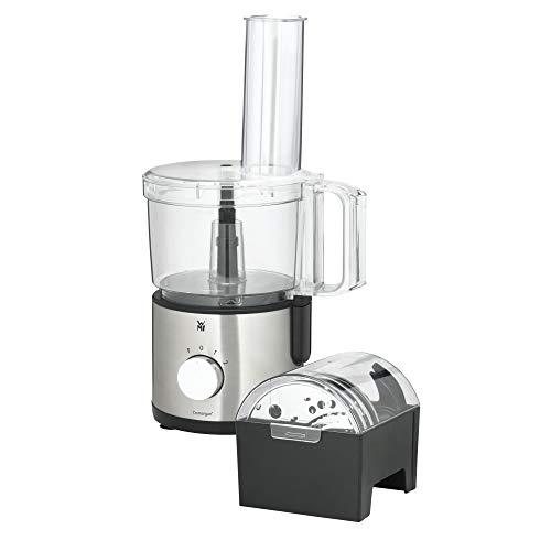 WMF Kult X Edition Küchenmaschine (500 W, mit 5 Zubehör-Scheiben, Knetmesser, Stopfen, Edelstahl-Messer, Behälter 2,0 l)
