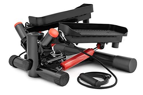Hop-Sport Swing Side Stepper HS-035S Computer Trainingsbänder verstellbare Tritthöhe Einstellbarer Widerstand