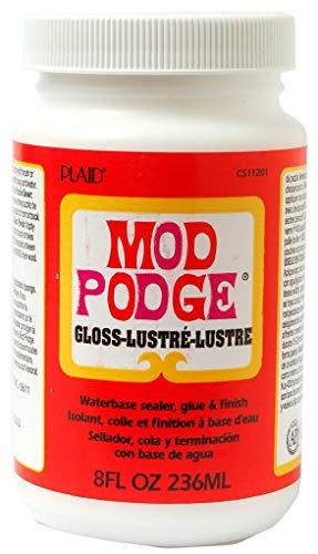 Mod Podge Wasserbasierende Versiegelung Kleber und Lack, transparent Klar, Synthetic Material, durchsichtig, 6 x 6 x 10.8 cm