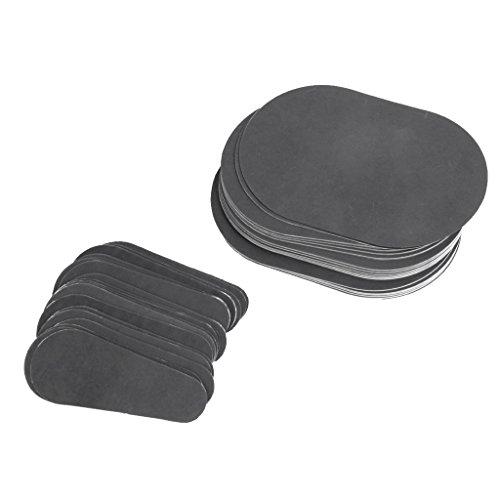 Sharplace Enthaarungspads Set (40 x große pads + 40 x kleine pads) Haarentfernung Pads schmerzfrei für eine sanfte Haarentfernung