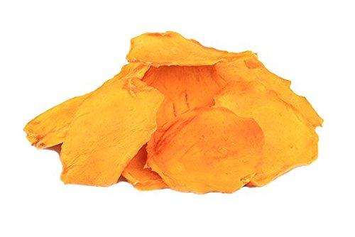 Bio Mangos 1 kg getrocknete Mango Hälften aus Mexiko Cheeks Rohkost extra weich und süß 1000g
