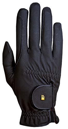 Roeckl Sports Roeck Grip Winter Handschuh, Unisex Reithandschuhe, Schwarz, 7