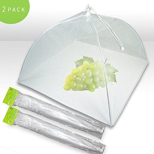 NiceBtual Pop-Up-Mesh-Zelte für Lebensmittel, zum Schutz vor Fliegen, Insekten, Mücken, wiederverwendbar, Farben können variieren (Sortiert, 1)