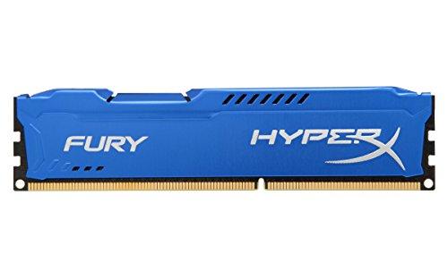 HyperX Fury HX316C10F/8 Arbeitsspeicher 8GB (1600MHz, CL10) DDR3-RAM