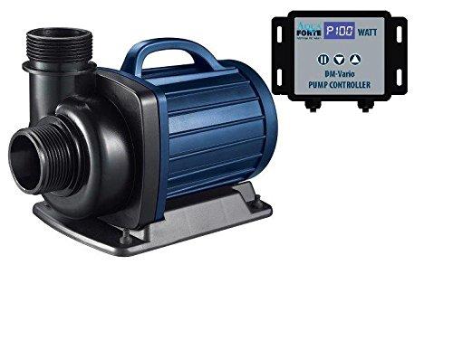 AquaForte Filter-/Teichpumpe DM-10000 Vario, 15-85W, Förderhöhe 5m, regelbar