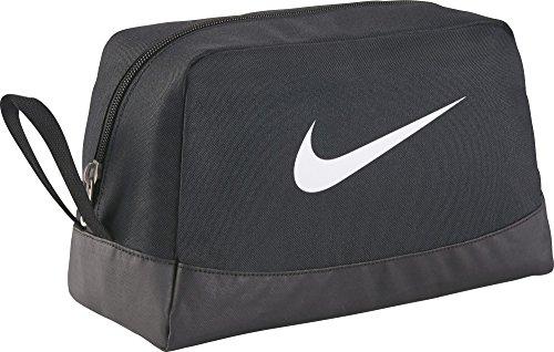 NIKE Rucksack Nike Club Team Swsh Toiletry, Black/White, 27 x 16 x 16 cm, BA5198-010