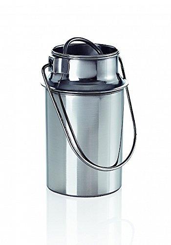 Transportkanne 5,5 Edelstahl Milchkanne Transportbehälter Kanne Milchkrug