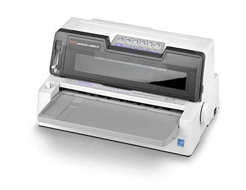 OKI ML6300FB-SC 24-Pin-Nadeldrucker (Flachbett, automatische Papierausrichtung)