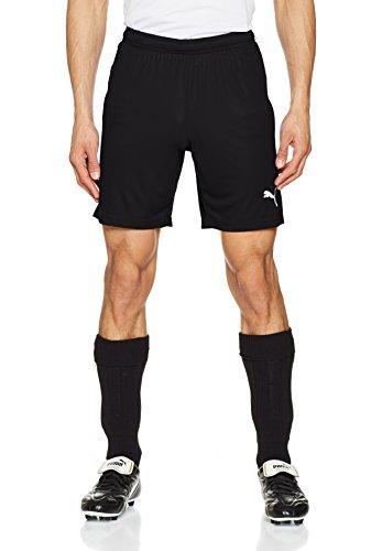 Puma Herren Liga Core Shorts, Black White, M