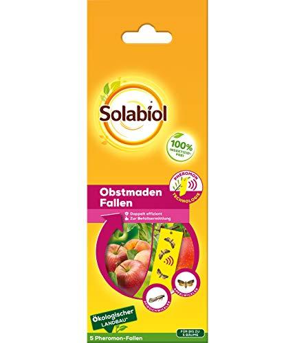 Solabiol Obstmaden Fallen, Pheromonfallen, 5 Stück
