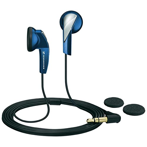 Sennheiser MX 365 In-Ear Micro-Kopfhoerer, blau