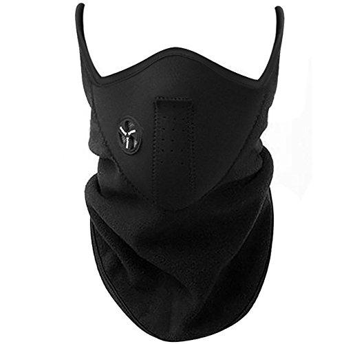 TRIXES Gesichtsmaske als Kälteschutz für Ski, Snowboard, Fahrrad, Motorrad - Skimaske