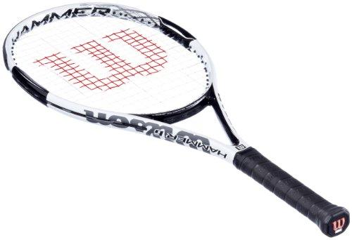 Wilson Herren Tennisschläger Hammer 6, Silber/Weiß/Schwarz, 3, WRT653000