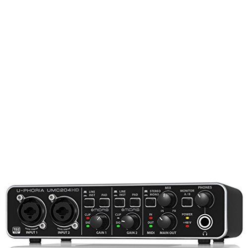 Behringer UMC204HD U-Phoria USB Audio und 'MIDI' Interface