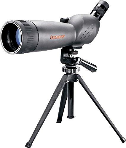 Tasco terrestrisches Fernrohr mit Stativ WC20608045, 20-60 x 80 mm, grau