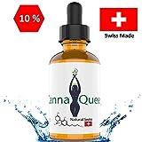 Canna Queen   10% Hanföl Tropfen  10 ml mit hochwirksamen 1000 mg   Hergestellt in der Schweiz mit Sicherheitsverpackung zum transportieren - Swiss Quality