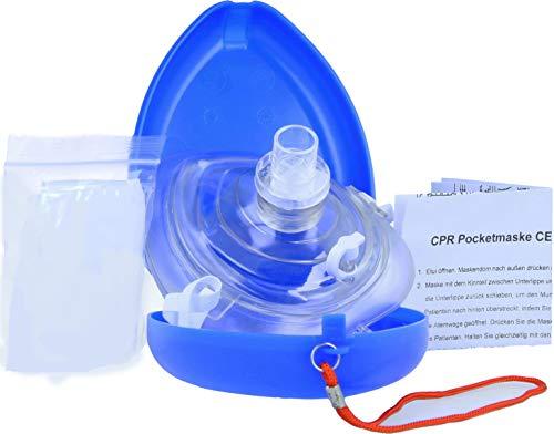 Horn Medical Pocketmaske Notfall-Gesichtsmaske Beatmungsmaske, Laien (1)
