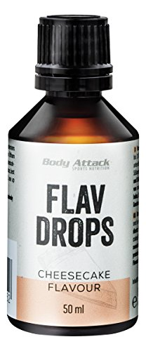 Body Attack Flav Drops, Cheesecake, 1er Pack (1 x 50 ml)