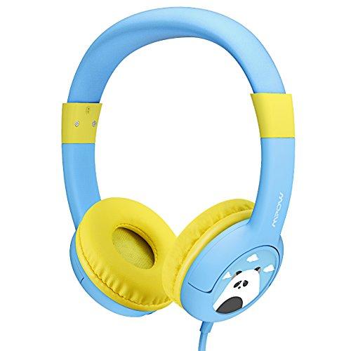 【Geschenk für Kinder】Mpow Kopfhörer für Kinder, Kids Kopfhörer, Kinder Headset mit 85dB Lautstärke Begrenztem Gehörschutz & Musik-Sharing-Funktion, Kinderfreundlichr Sicherer Lebensmittelqualität, Blau