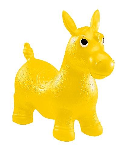 John 59026 - Aufblasbares Sprung- & Sitztier Pony Hop - Hüpftier, Hüpfspielzeug, Sprungpferd