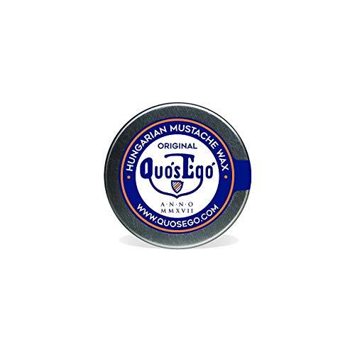Quos Ego Ungarische Bartwichse, Bartwachs zum Stylen und Zwirbeln vom Schnurrbart 20ml