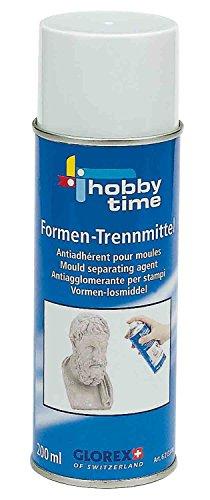 Glorex GmbH 6 2133 00 - Formen-Trennmittel-Spray 200 ml, Mehrere Elemente, 5,5 x 5,5 x 21 cm, Mehrfarbig