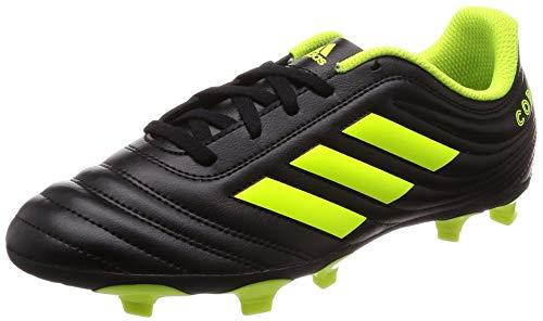 adidas Copa 19.4 FG, Baby Jungen Fußballschuhe, Schwarz (Core Black/Solar Yellow), 30 EU(11.5 UK)