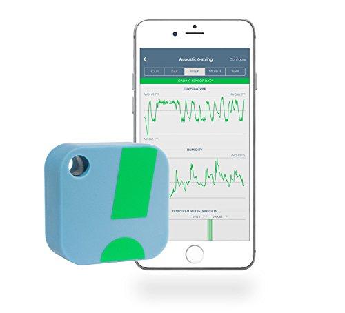 SensorPush – kabelloses Thermometer / Hygrometer für iPhone / Android. Smarter Temperatur- u. Feuchtigkeitssensor mit Alarmfunktion