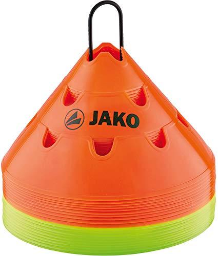 JAKO Markierungshütchen Multi, Orange/Gelb, One Size