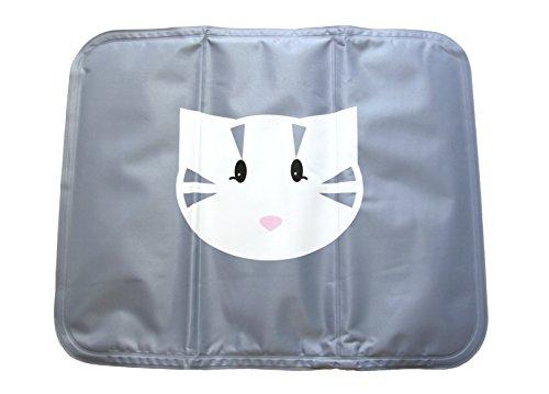 MAKRONE Kühlmatte & Wärmematte in Einem, Kabellos, für die Mikrowelle Geeignet, für Mensch,Hund, Katze, Kleintiere, Wärmepad 39x31cm