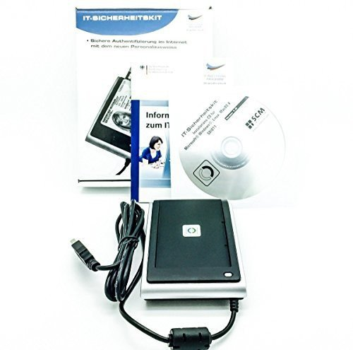 Personalausweis Krankenkassenkarte Lesegerät HBCI Online Banking Sicherheitszutritt Kontaktlos SCM SDI011 BSI zertifiziert