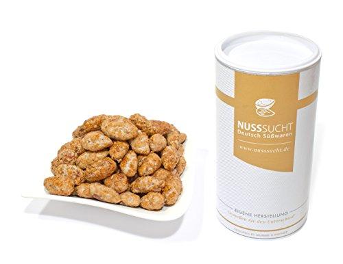 Gebrannte Kirmes Mandeln | Inhalt: 500g | ohne Zusatz- und Konservierungsstoffe | mit wenig Zucker (500g)