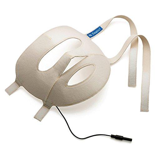 Saalio Gesichtsmaske mit Graphitfasern für Saalio DE Iontophorese Set. Auch als Saalio FA Komplettset gegen Schwitzen im Gesicht