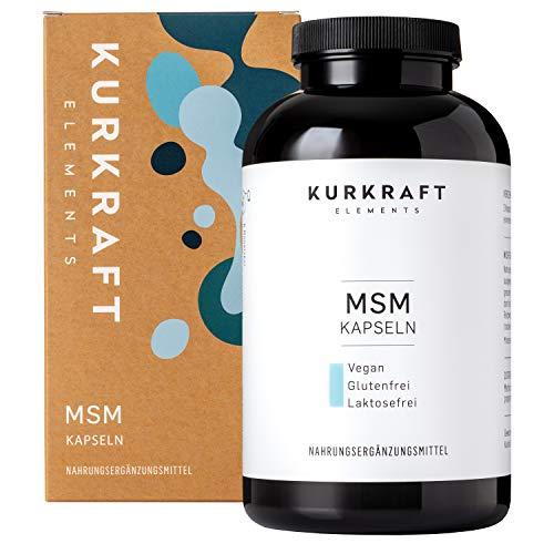 Kurkraft MSM (365 Kapseln) - Einführung - 1600mg Methylsulfonylmethan (MSM) - ohne Zusatzstoffe in der Kapsel - hochdosiert - sorgfältig hergestellt in Deutschland