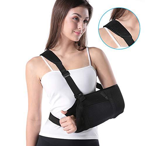 Armschlinge Doact Schulterschlinge zum Arms für Schulter-Rotator-Manschetten-Stützklammer, Luxation, Verstauchungen und Dehnungen, Schulter und Handgelenk Verletzungen oder Frakturen