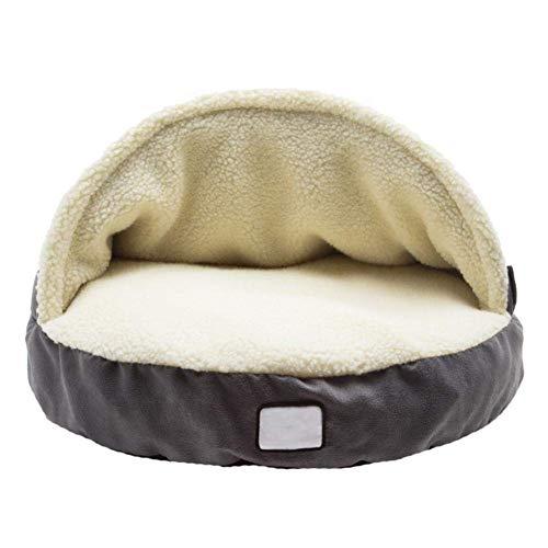 Hundehöhle, gemütlich, warm, Kaschmir, groß, universal, langlebig, weiche Hundehütte, Haus für große Hunde, Katzen, abnehmbar, waschbar