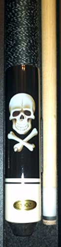 Billardqueue Original 'Black Death' inkl. Queuekoffer Standard und Ersatzledern