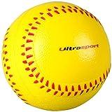 Ultrasport Softball aus Schaumstoff, vielseitig einsetzbar als Antistressball, Fitnessball, Handmuskeltrainer oder Kinderspielzeug