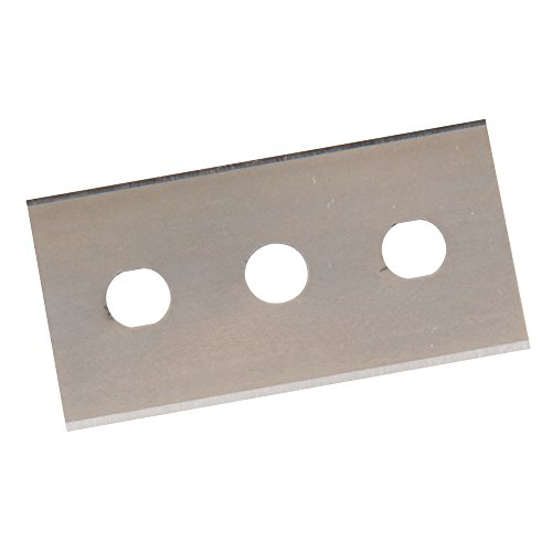 Silverline 427668 Doppelseitige Schaberklingen, 10er-Pckg. 0,2 mm