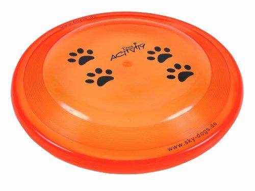 Trixie 3356 Dog Activity Dog Disc, bissfest, ø 23 cm farblich sortiert