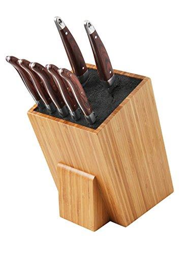 Universeller Messerblock - bambus (XL Black)