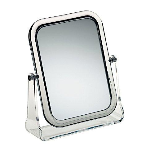 Rechteck-Tischspiegel FIONA aus Acryl 1-fach und 3-fach vergrößernd