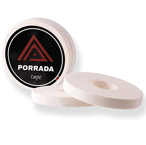 NEU: PORRADA BJJ Tape [2er Set] 1cm x 13,7m - ideales Fingertape und Sporttape für Bestleistungen und 100% Schutz beim Kampfsport