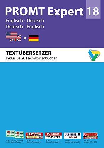 PROMTExpert 18 Englisch-Deutsch