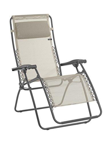Lafuma Relax-Liegestuhl, Klappbar und verstellbar, Mit Schnürsystem, RSXA, Batyline
