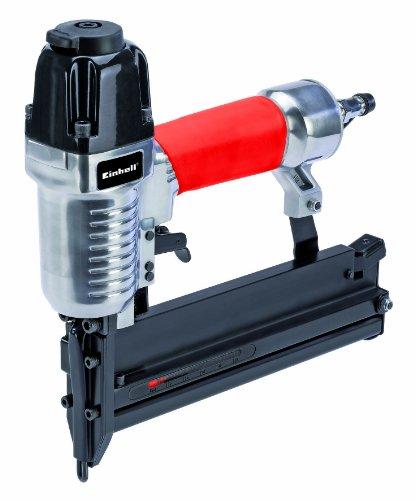 Einhell Druckluft Tacker und Nagler Set passend für Kompressoren (Arbeitsdruck 8,3 bar, Luftverbrauch 0,66 l/Schuss, inkl. Zubehör, im Koffer, Ölflasche ohne Inhalt)