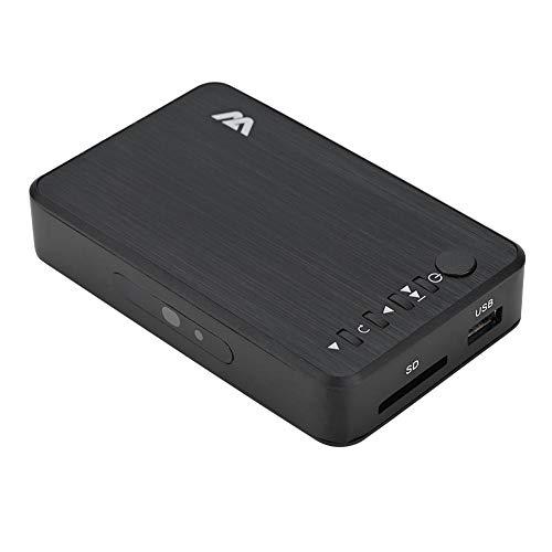 VBESTLIFE HDMI 1080P HD Audio und Video Multimedia Player mit IR Fernbedienung,unterstützt MKV, MOV, AVI, M2TS, TP, TRP, IFO, ISO,110V-240V(EU)