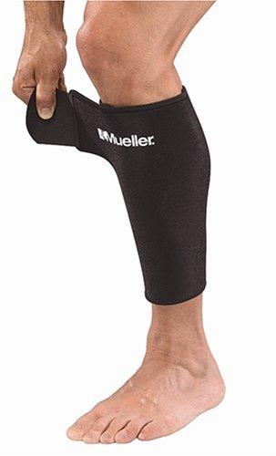 Mueller Schien-und Wadenbeinschutz, Größe regular, schwarz