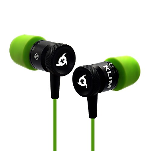 KLIM Fusion In-Ear-Kopfhörer mit Memory Foam, Grün